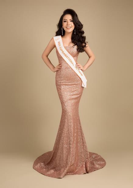 Á hậu Việt có vòng ba 1 mét sẽ dự thi Hoa hậu Siêu quốc gia