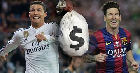 Giàu nứt đố đổ vách, Messi phải cảm ơn C.Ronaldo?