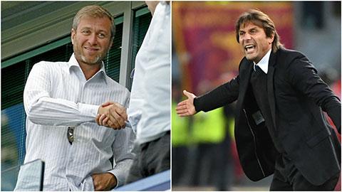 Abramovich và Conte không thèm nhìn mặt nhau