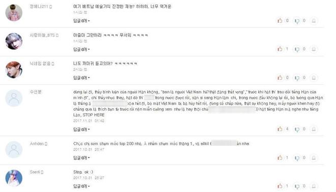 Chi Pu nhận đánh giá tiêu cực trên trang nghe nhạc Hàn Quốc