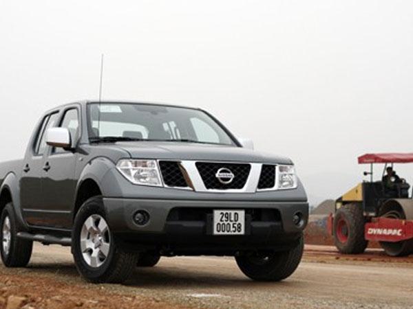 Triệu hồi hơn 3.000 chiếc Nissan Navara tại Việt Nam