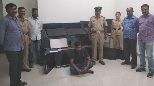 Du khách thuê phòng, trộm 120 chiếc TV từ khách sạn