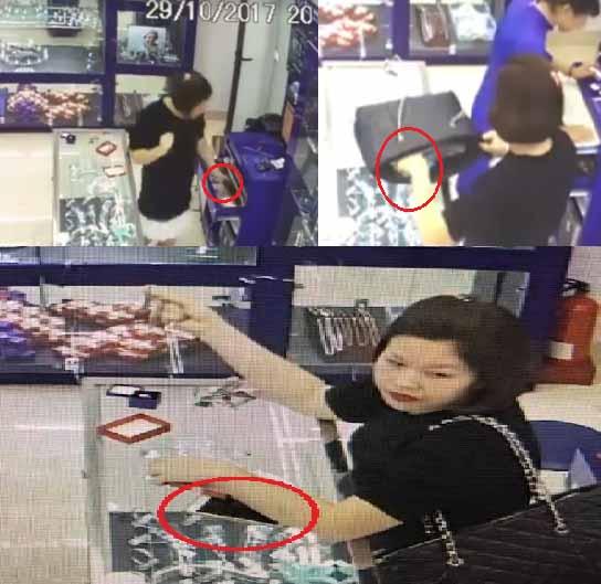 Truy tìm hot girl vờ mua trang sức rồi cuỗm điện thoại