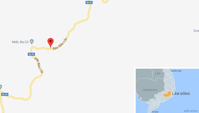 Suýt chết vì xe Thành Bưởi vượt ẩu trên đèo Bảo Lộc