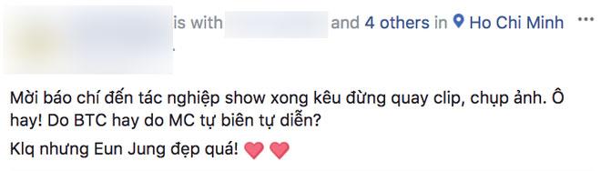 Người đeo thẻ BTC concert T-Ara ở TP.HCM gây phẫn nộ khi hung hãn xô xát, đập điện thoại của phóng viên tác nghiệp
