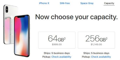 Apple bắt đầu bán iPhone X bản quốc tế ở Mỹ