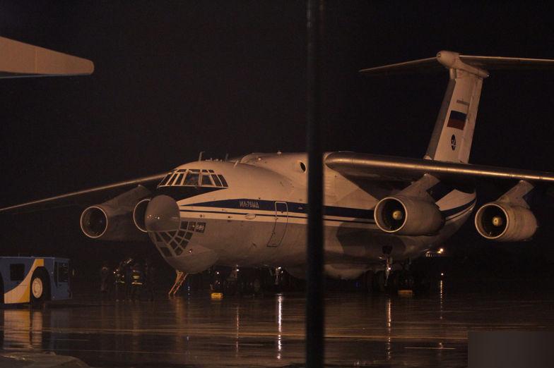 Thêm chuyên cơ vận tải của Nga đáp xuống Đà Nẵng