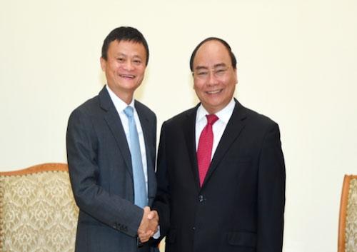 Thủ tướng hy vọng Jack Ma truyền cảm hứng khởi nghiệp ở Việt Nam