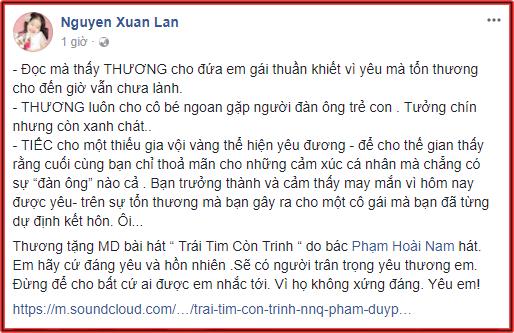 Sao Việt lên tiếng bênh vực Midu sau ồn ào chuyện tình cảm với Phan Thành