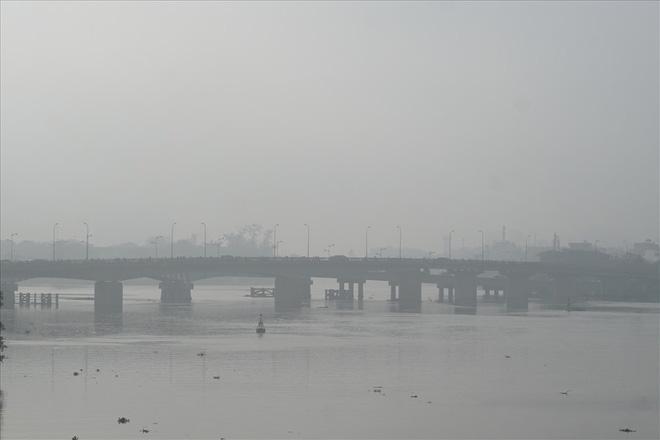 Sài Gòn sương mù giăng phủ như Sa Pa