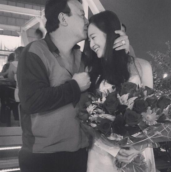 Ái nữ nhà Hoa hậu đền Hùng Giáng My xinh đẹp trong đám cưới anh trai thiếu gia