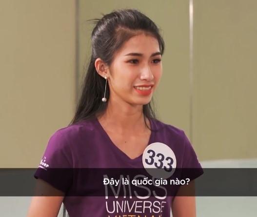 Thí sinh Hoa hậu Hoàn vũ không biết Trung Quốc tiếng Anh là gì