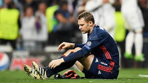 ĐT Đức đối mặt nguy cơ mất Neuer ở World Cup