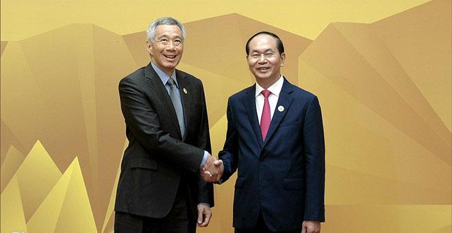 Lãnh đạo APEC tới dự phiên đầu tiên của Hội nghị Cấp cao