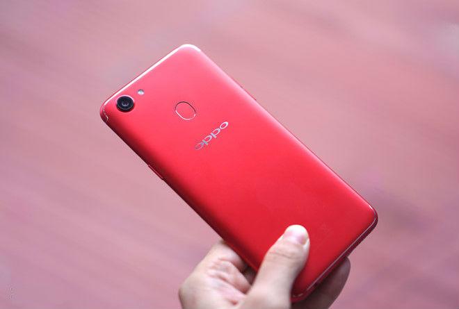 Oppo F5 thêm bản màu đỏ với RAM 6 GB tại Việt Nam