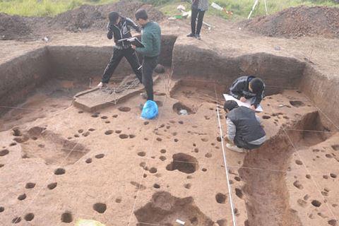 Di chỉ khảo cổ học đặc biệt giữa Thủ đô đối mặt nguy cơ biến mất