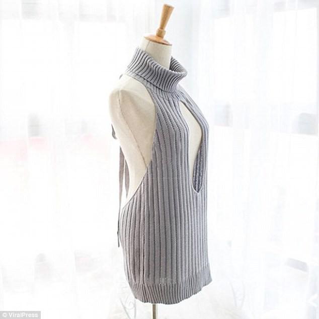 Phát hoảng với mẫu áo len gây sốt tại Nhật