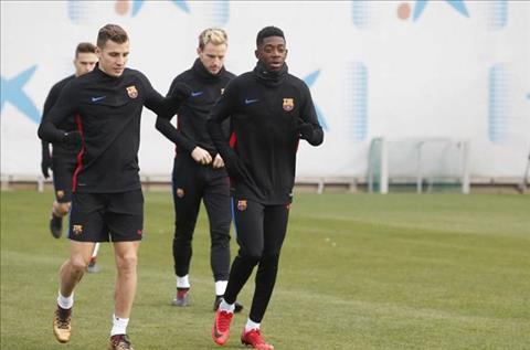 Bom tấn Dembele báo tin vui cho Barca