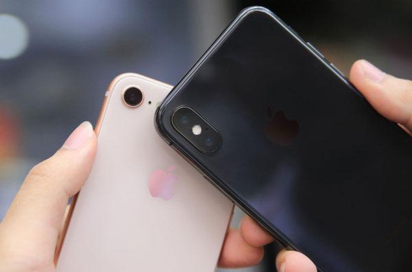 iPhone X bán tốt hơn iPhone 8 và 8 Plus