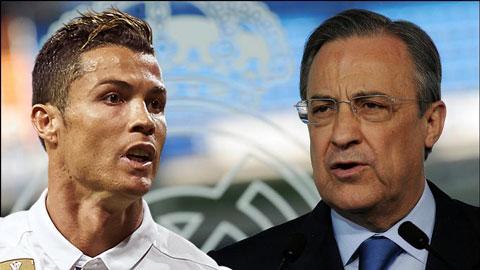 Perez mất kiên nhẫn vì sự ngạo mạn của Ronaldo