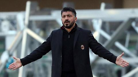 Lộ tin Gennaro Gattuso từ chức HLV Milan chỉ sau nửa tháng
