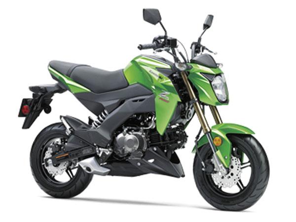 Kawasaki thu hồi Z125 PRO và PRO KRT 2017-2018