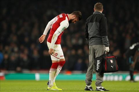 Arsenal nhận tin cực sốc từ chấn thương của Giroud