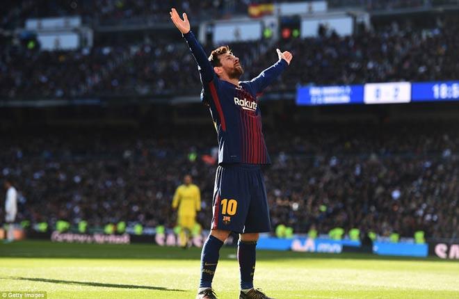 Messi quá hay, vì sao vẫn chưa được CĐV Real vỗ tay như Rô vẩu