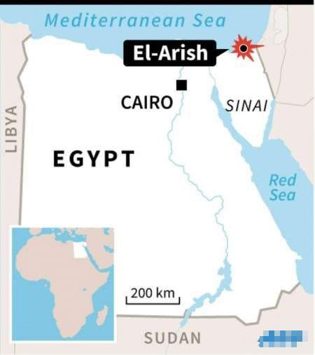 Ai Cập treo cổ 15 người tấn công lực lượng an ninh
