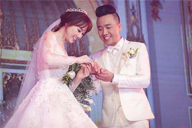 Trấn Thành nhắn nhủ Hari Won nhân 1 năm ngày cưới: Cảm ơn em đã đến bên anh