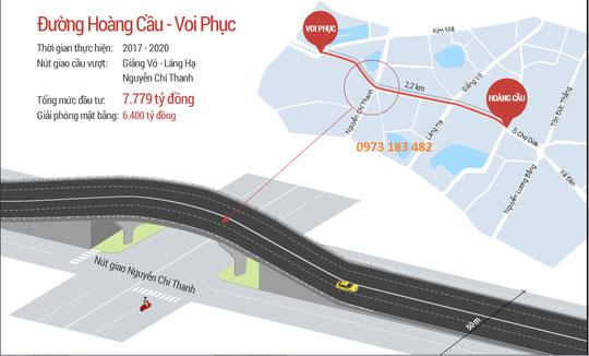 Hà Nội thêm con đường đắt nhất hành tinh, đầu tư 7.779 tỉ đồng
