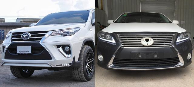 Nở rộ thú chơi biến xe Toyota thành Lexus