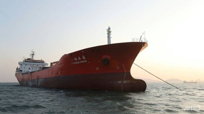 Hàn Quốc bắt thêm tàu nghi chở dầu cho Triều Tiên