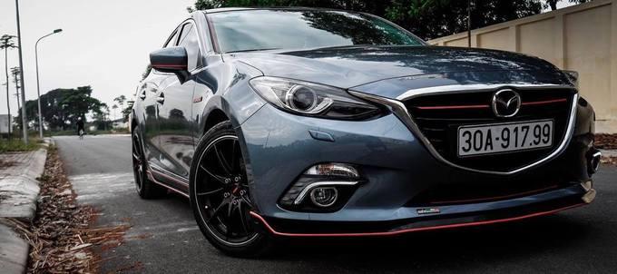 Mazda3 phong cách thể thao của tay chơi Hà thành
