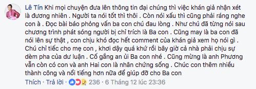 Phước Sang: Duy Phương từng thức trắng 3 đêm, từ chối show diễn để chăm con bệnh