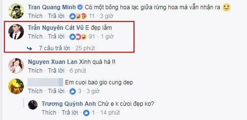 Ở Hàn Quốc, Tim vẫn nhắn tin về cho Trương Quỳnh Anh và khen vợ đẹp
