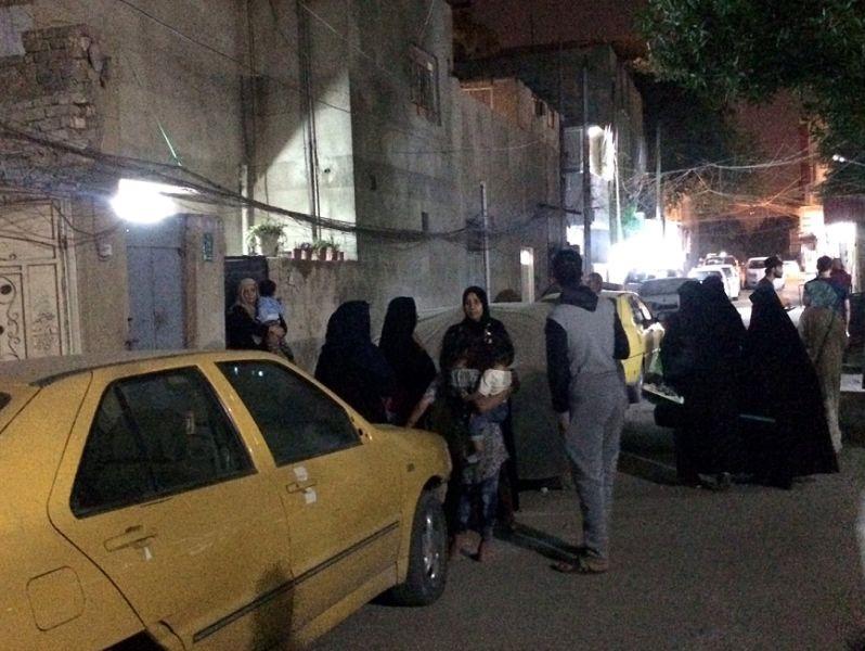 Hiện trường động đất mạnh ở biên giới Iran - Iraq