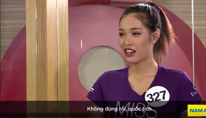 Thí sinh Hoa hậu Hoàn vũ VN: Quốc tịch của người Trung Quốc là... Vạn Lý Trường Thành