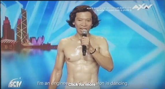 Chàng trai người Việt đi thi Asias Got Talent bị dân mạng chỉ trích là trò cười trên truyền hình