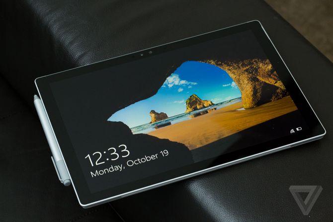 Microsoft vô tình thừa nhận Surface Pro 4 không phải là thiết bị an toàn nhất?