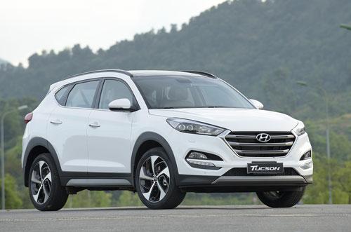 Hyundai Tucson giảm giá sát ván 130 triệu tại Việt Nam