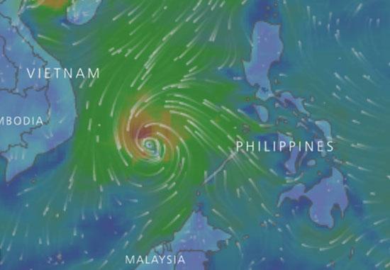 3 tỉnh Nam Trung Bộ cấm biển, sơ tán dân tránh bão số 14