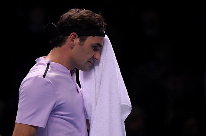 Sốc: Federer thất bại trước Goffin ở bán kết ATP Finals