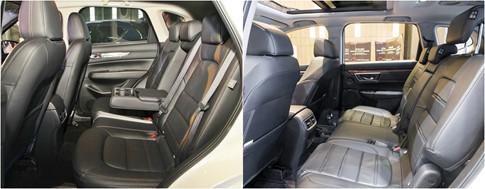 Mazda CX-5 quyết đấu Honda CR-V: Ai hơn ai?