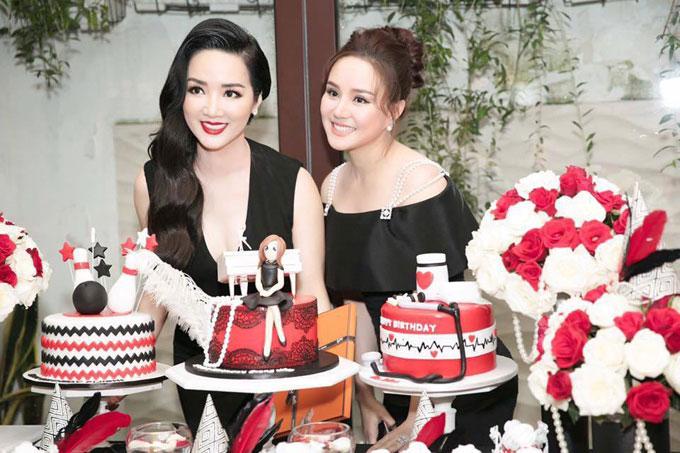 Con gái cưng cùng dàn sao dự tiệc sinh nhật của Giáng My
