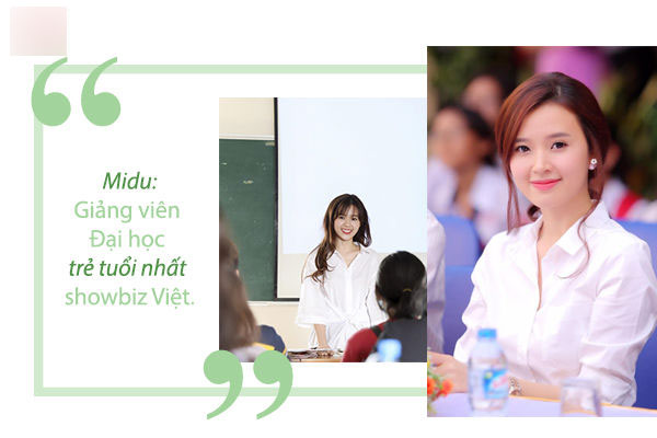 Midu: Tôi hạnh phúc vì ước mơ làm giáo viên từ nhỏ giờ đã thành hiện thực