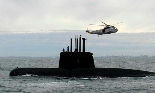 Argentina phát hiện âm thanh nghi từ tàu ngầm mất tích
