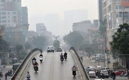 Ô nhiễm không khí tại Hà Nội phần lớn do hoạt động giao thông