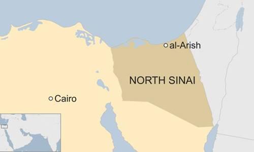 Quân đội Ai Cập không kích phiến quân sau vụ tấn công làm hơn 230 người chết