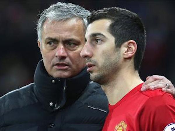 Mourinho bác bỏ tin đồn mâu thuẫn với Mkhitaryan